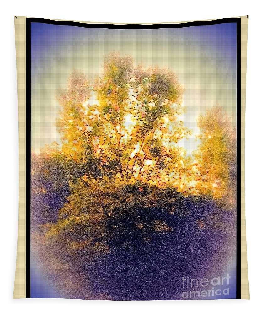 Trees Tapestry featuring the photograph Lovely As A Summer Day by Debra Lynch