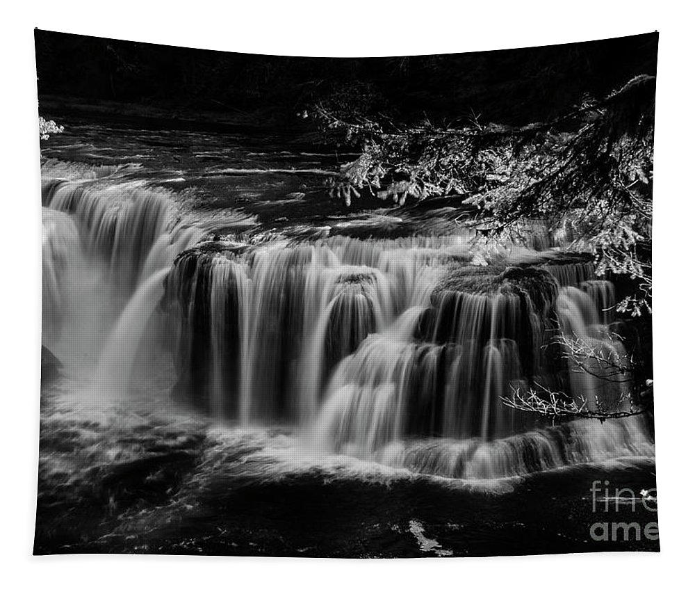 Pacific Tapestry featuring the photograph Lower Lewis Falls Washington State by Bob Christopher