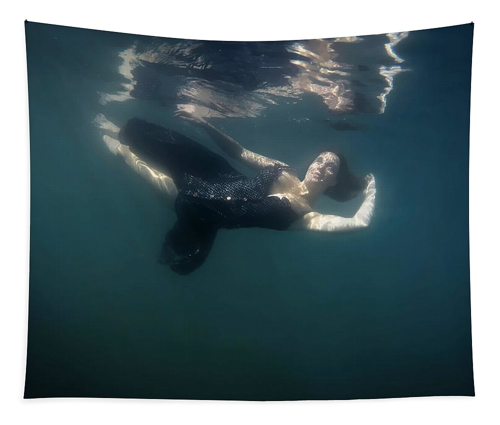 Woman Tapestry featuring the photograph Lucid State by Nicklas Gustafsson