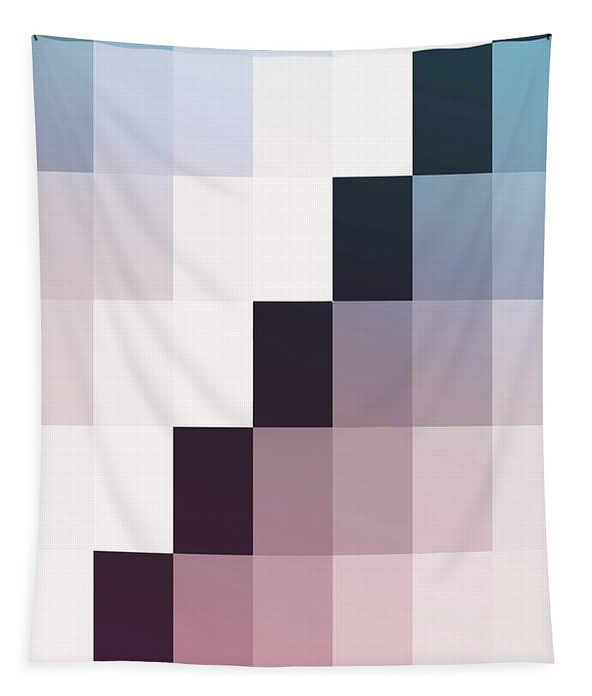Ombre Tapestry featuring the painting Madly by Mindy Sommers