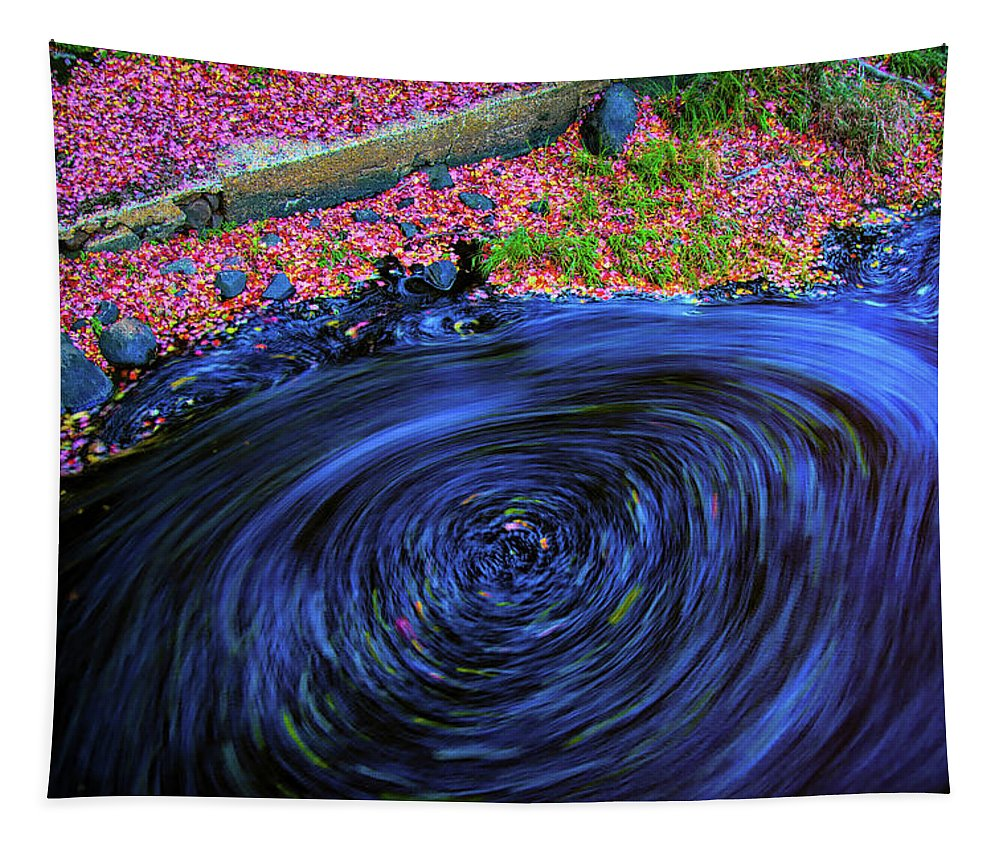 #jefffolger Tapestry featuring the photograph Maelstrom by Jeff Folger