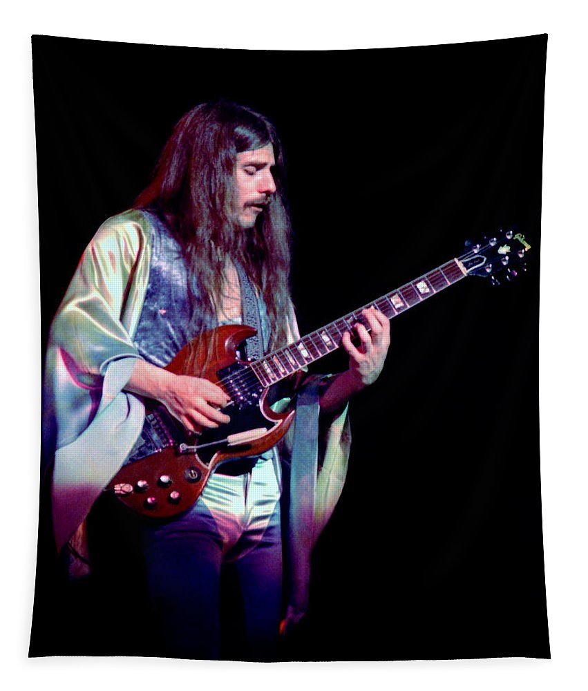 Frank Marino Tapestry featuring the photograph Mahogany Rush Seattle #20 by Ben Upham