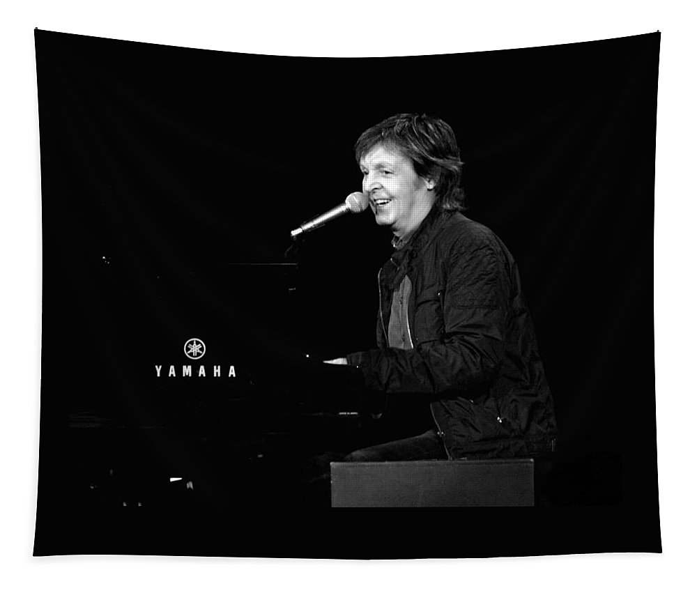 Paul Tapestry featuring the photograph Make A Joyful Noise by Keri Butcher