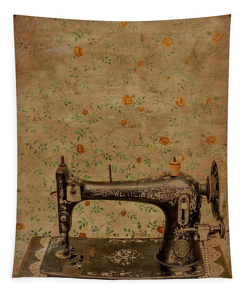 Sewing Tapestry featuring the photograph Make It Sew by Jorgo Photography - Wall Art Gallery