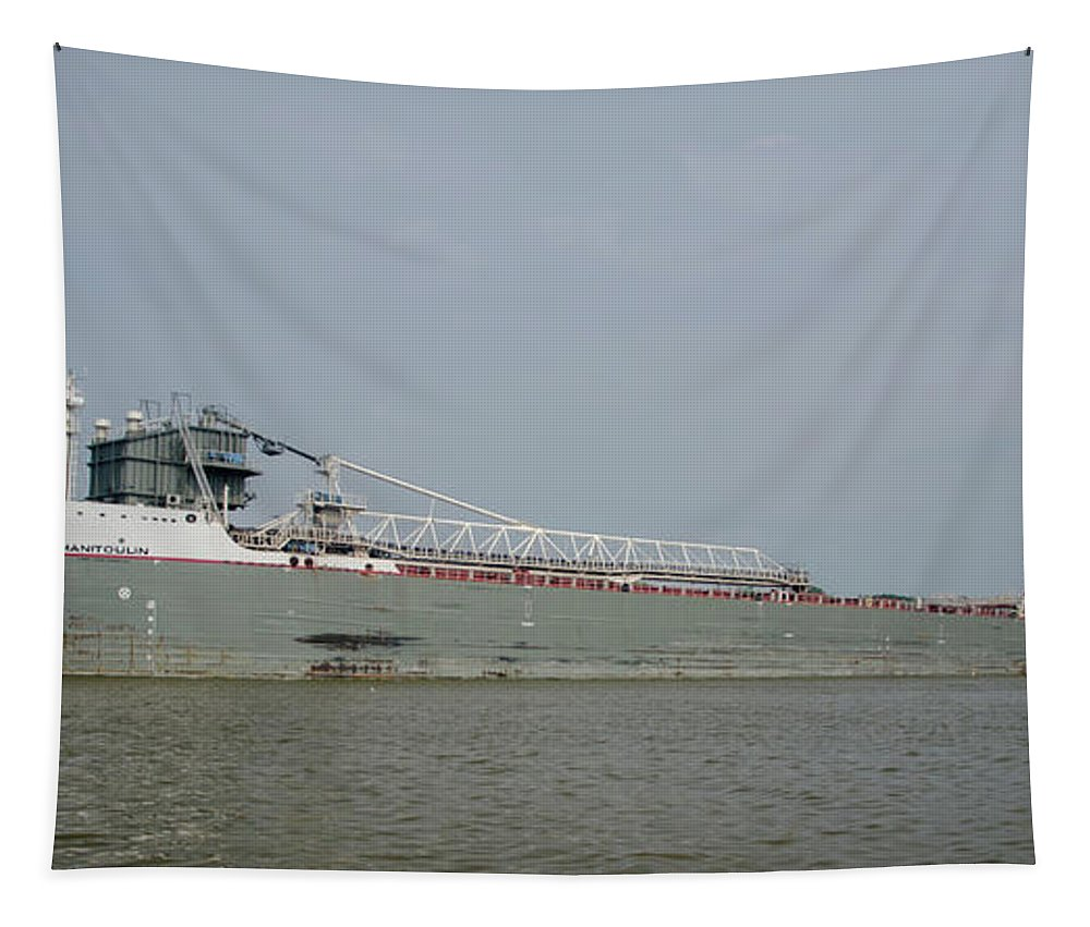 Manitoulin Tapestry featuring the photograph Manitoulin On The Maumee River by Gales Of November