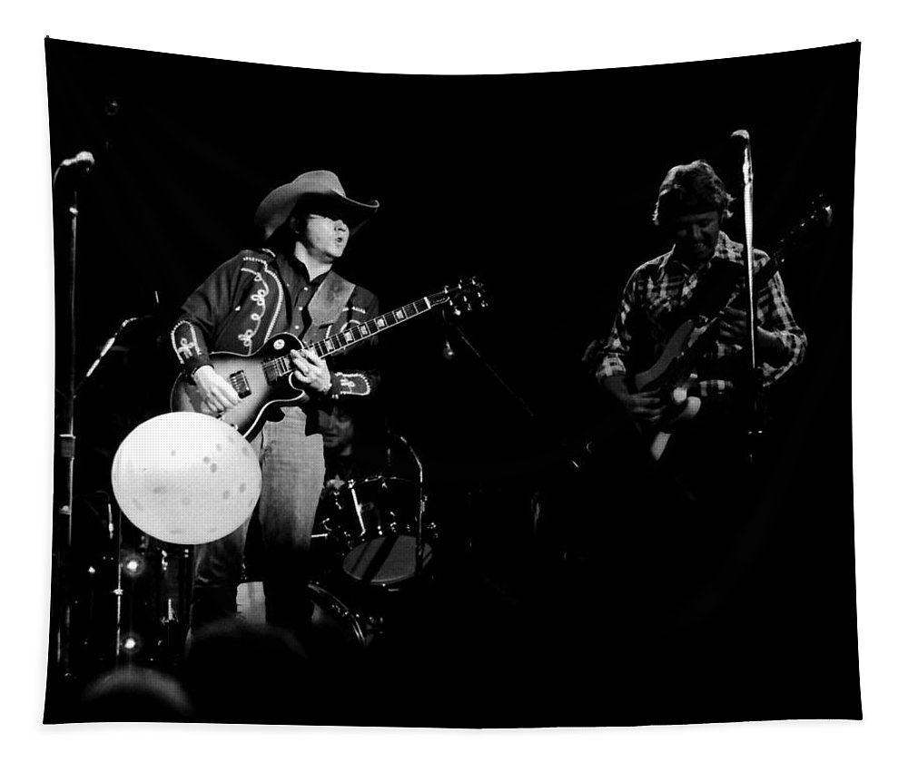 Marshall Tucker Tapestry featuring the photograph Marshall Tucker Winterland 1975 #16 by Ben Upham