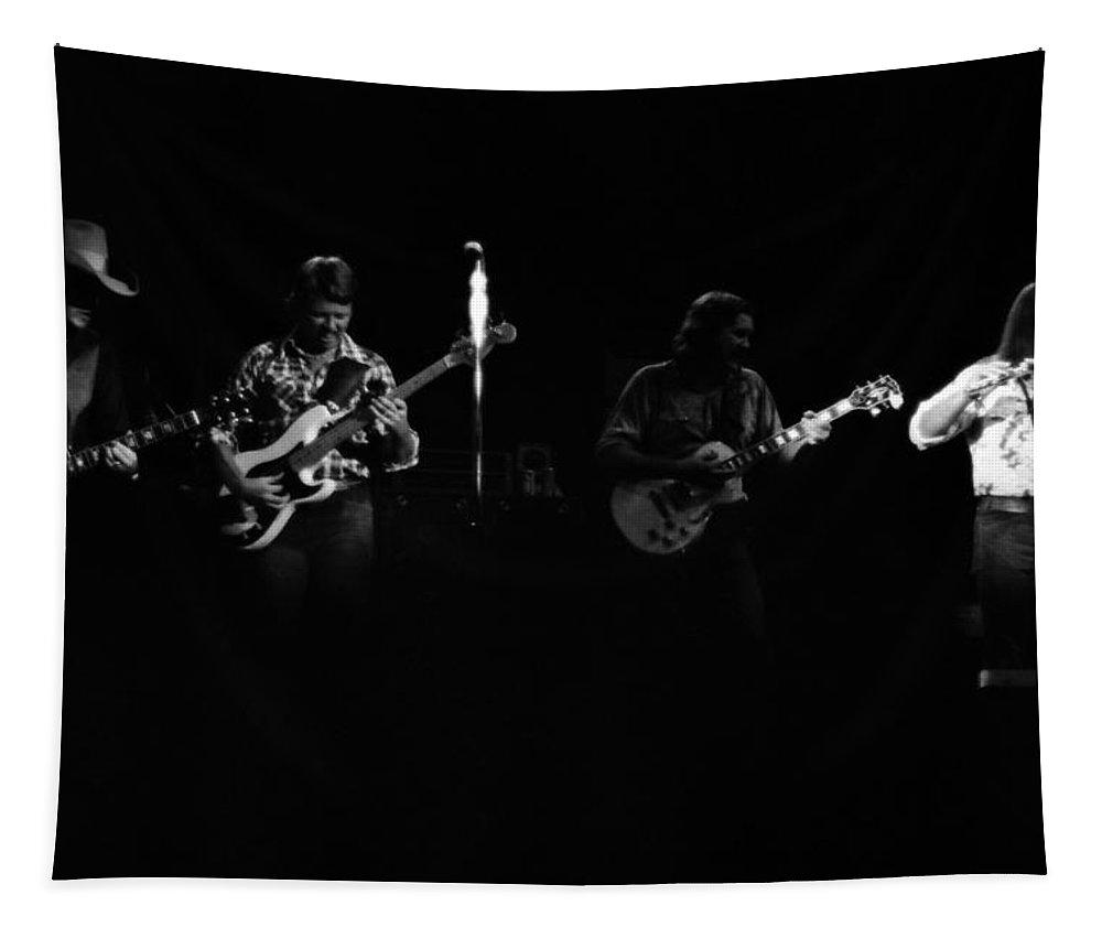 Marshall Tucker Tapestry featuring the photograph Marshall Tucker Winterland 1975 #19 by Ben Upham