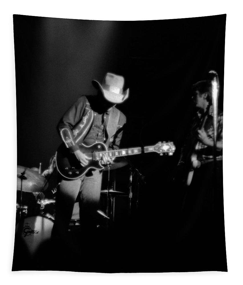Marshall Tucker Tapestry featuring the photograph Marshall Tucker Winterland 1975 #23 by Ben Upham