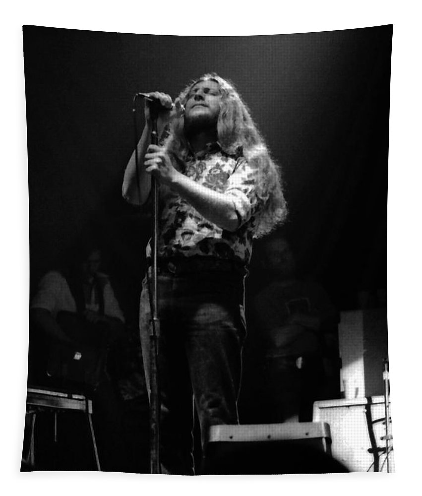 Marshall Tucker Tapestry featuring the photograph Marshall Tucker Winterland 1975 #25 Crop 2 by Ben Upham