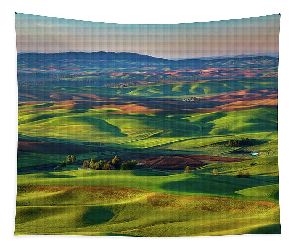 C-steele Tapestry featuring the photograph May On The Palouse by Chris Steele