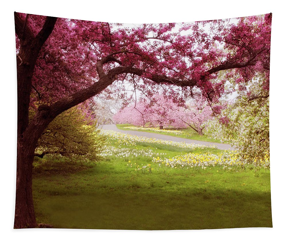 Meadow Tapestry featuring the photograph Meadow Views by Jessica Jenney