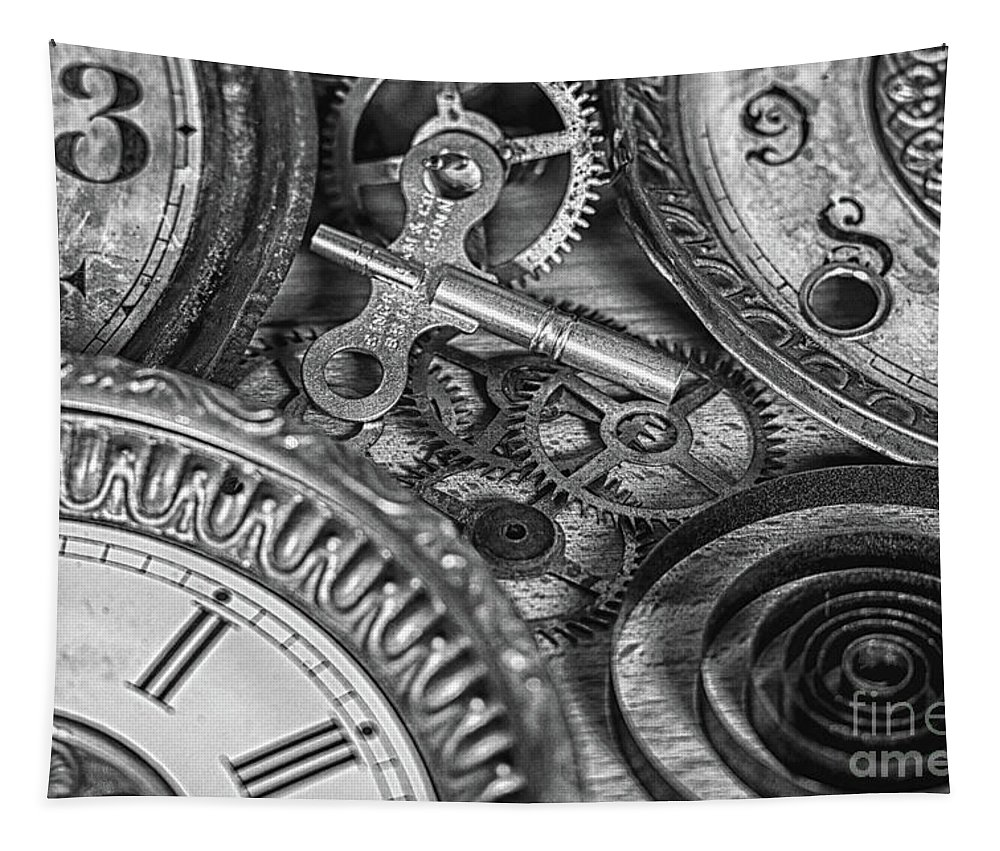 Mechanical Tapestry featuring the photograph Memories In Time by Tom Gari Gallery-Three-Photography