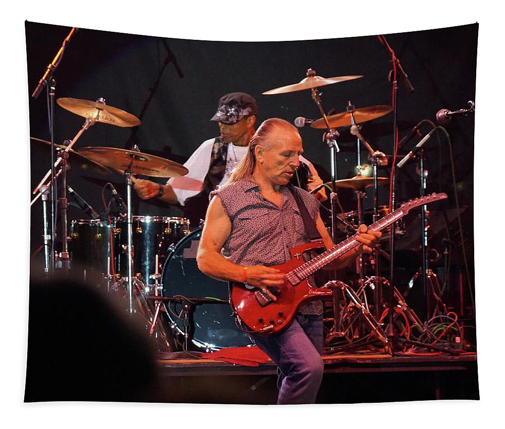 Classic Rock Tapestry featuring the photograph Mf #11 by Ben Upham