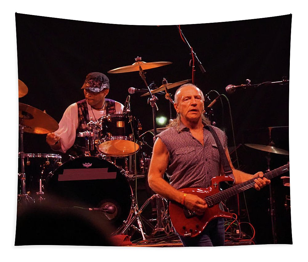 Classic Rock Tapestry featuring the photograph Mf #2 by Ben Upham