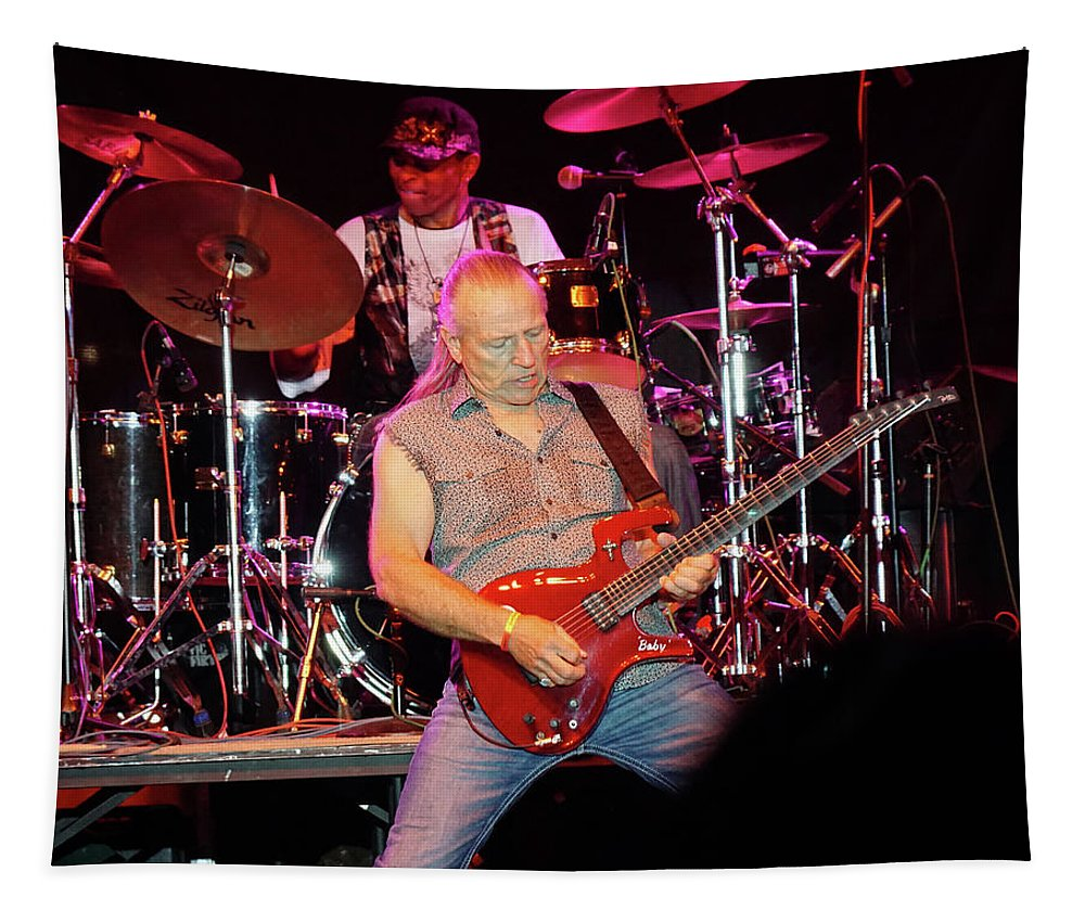 Classic Rock Tapestry featuring the photograph Mf #24 by Ben Upham