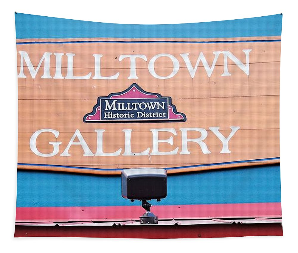 Milltown Tapestry featuring the photograph Milltown Gallery by Gary Richards
