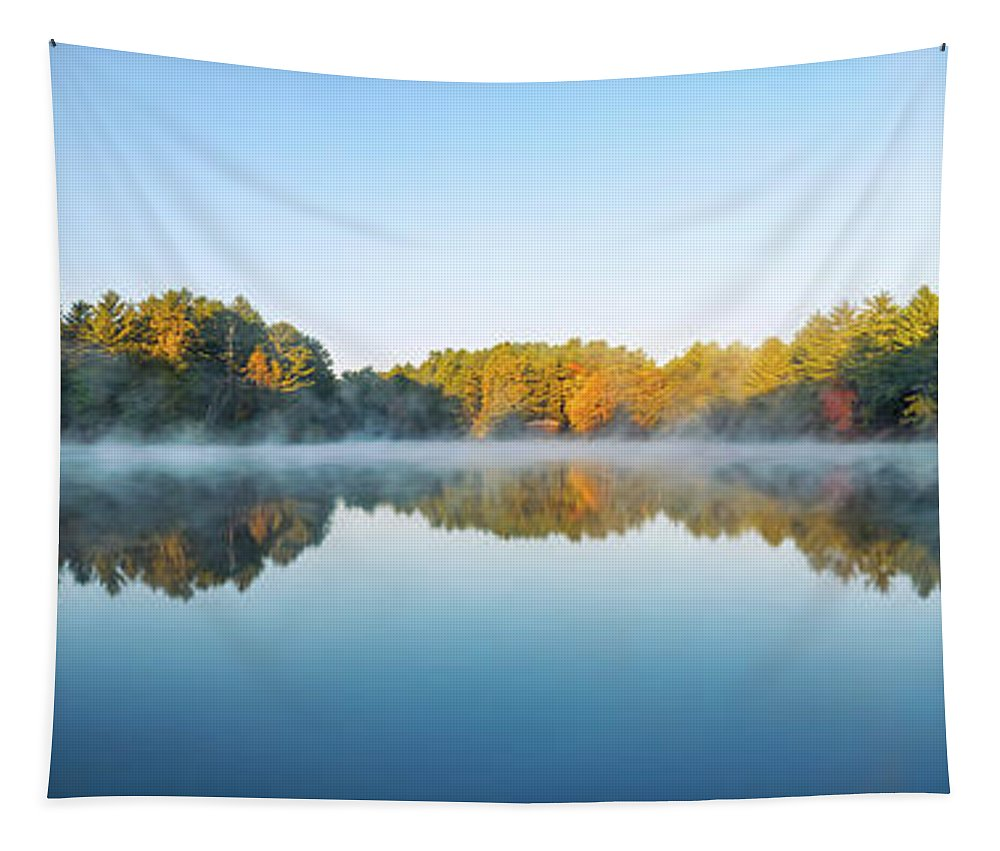 Mirror Lake State Park Tapestry featuring the photograph Mirror Lake by Scott Norris