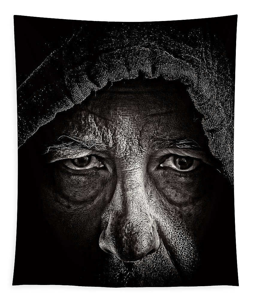 Night People Tapestry featuring the photograph Mister Rocco by Bob Orsillo