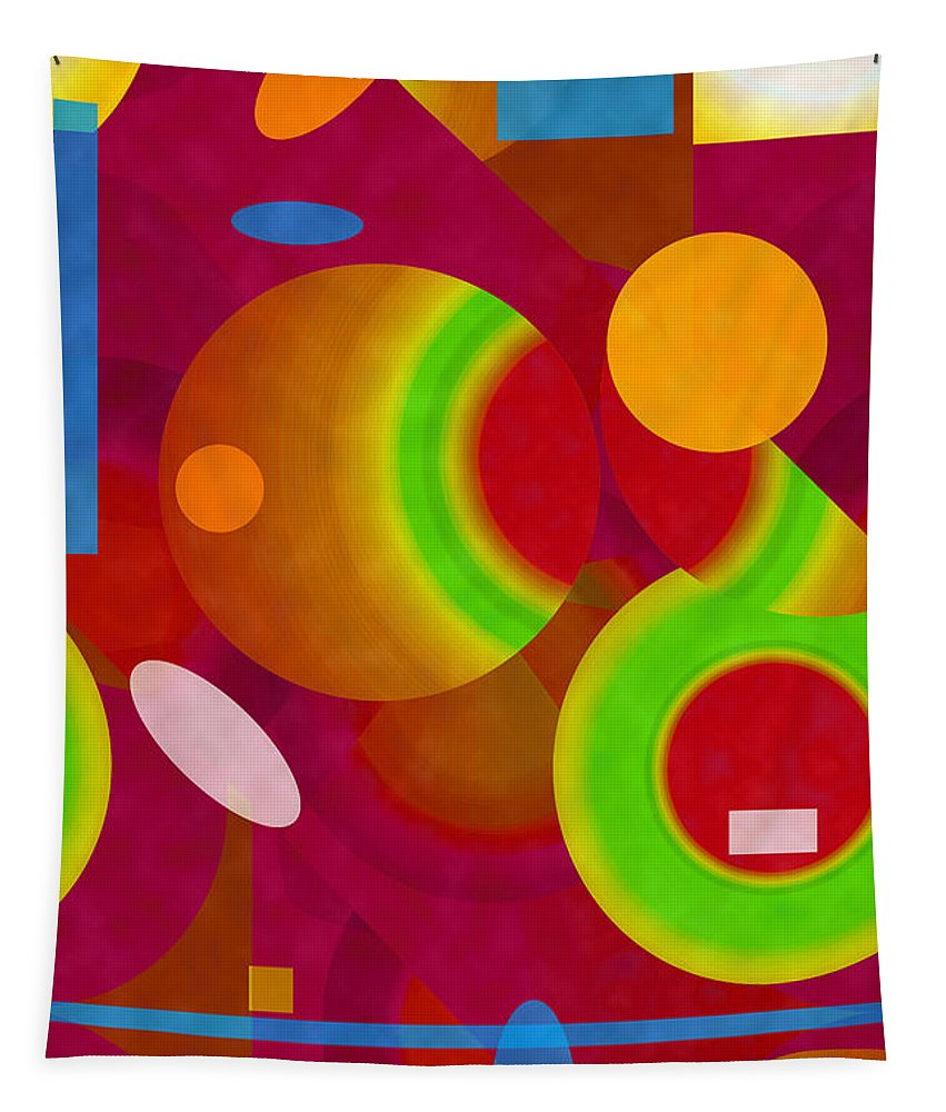 ruth Palmer Tapestry featuring the digital art Mix And Match by Ruth Palmer