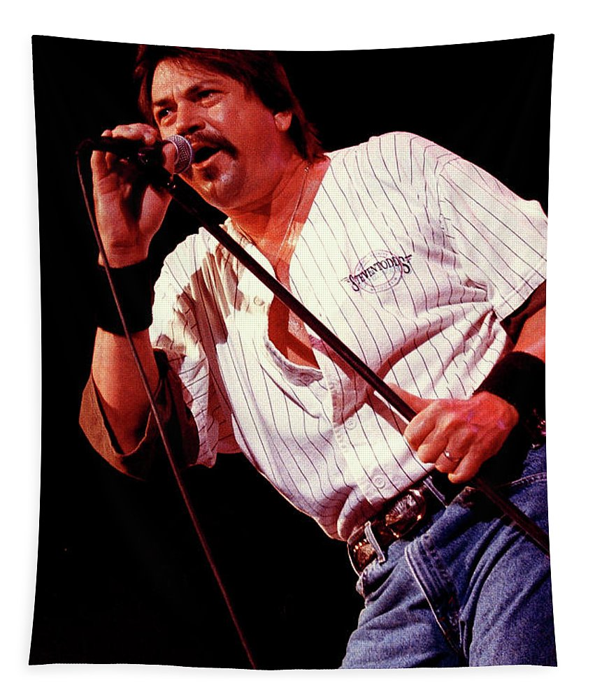 Molly Hatchet Tapestry featuring the photograph Molly Hatchet-93-danny-3700 by Gary Gingrich Galleries