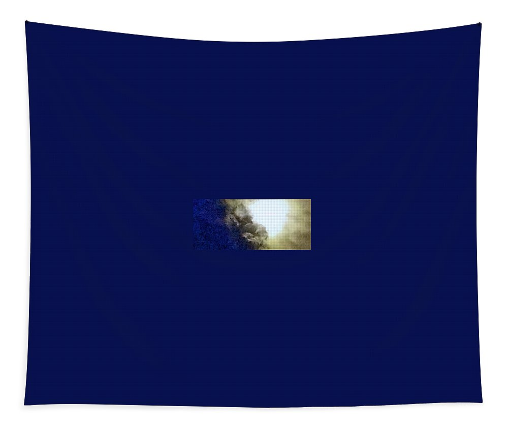 Tapestry featuring the photograph Moon by Uther Pendraggin