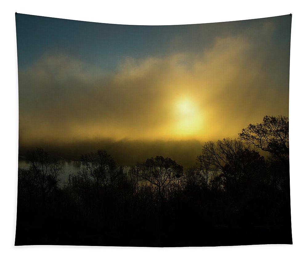 Morning Arrives Tapestry featuring the photograph Morning Arrives by Karol Livote