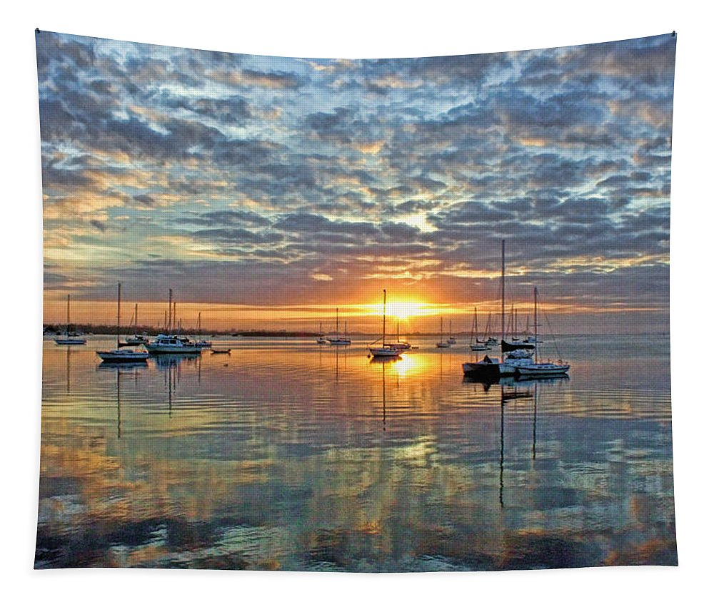 Hh Photography Of Florida Tapestry featuring the photograph Morning Bliss by HH Photography of Florida