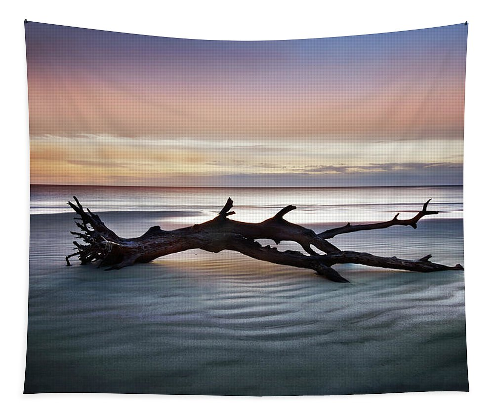 Clouds Tapestry featuring the photograph Morning Ecstacy by Debra and Dave Vanderlaan