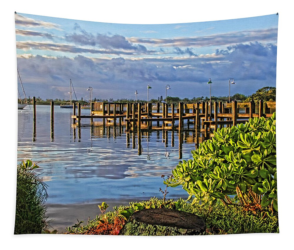 Hh Photography Of Florida Tapestry featuring the photograph Morning Glory 2 by HH Photography of Florida