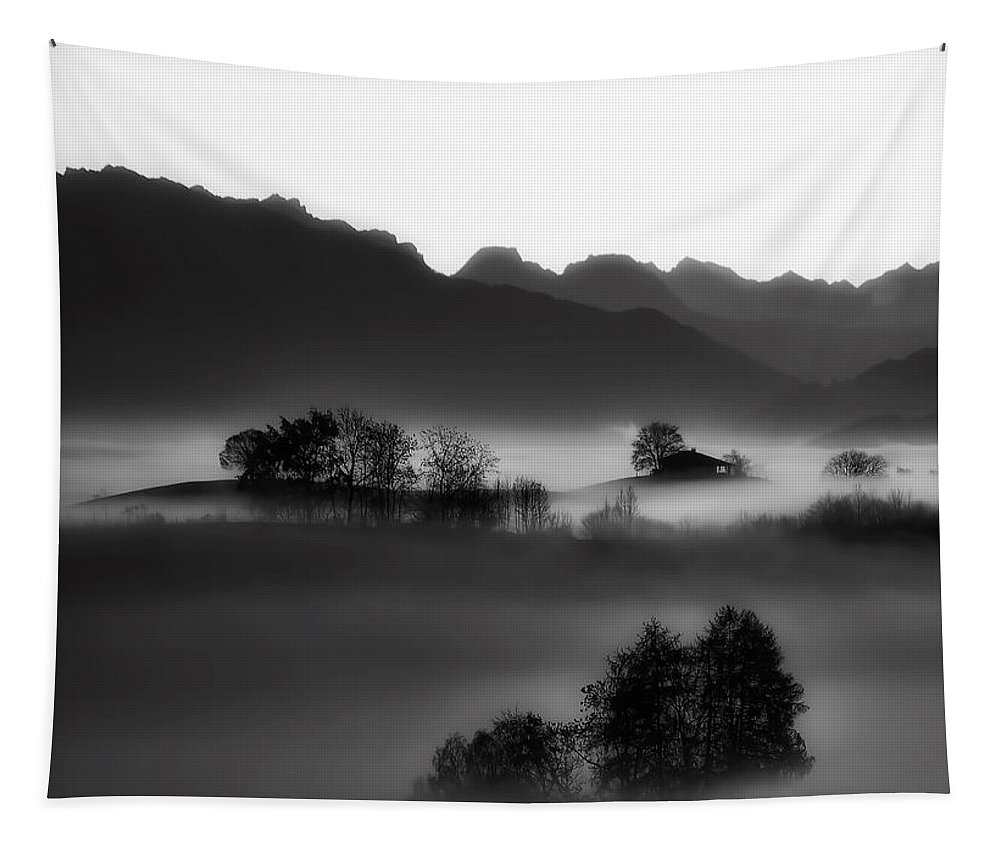 Sunrise Tapestry featuring the photograph Morning Stillness by Gomez Angel
