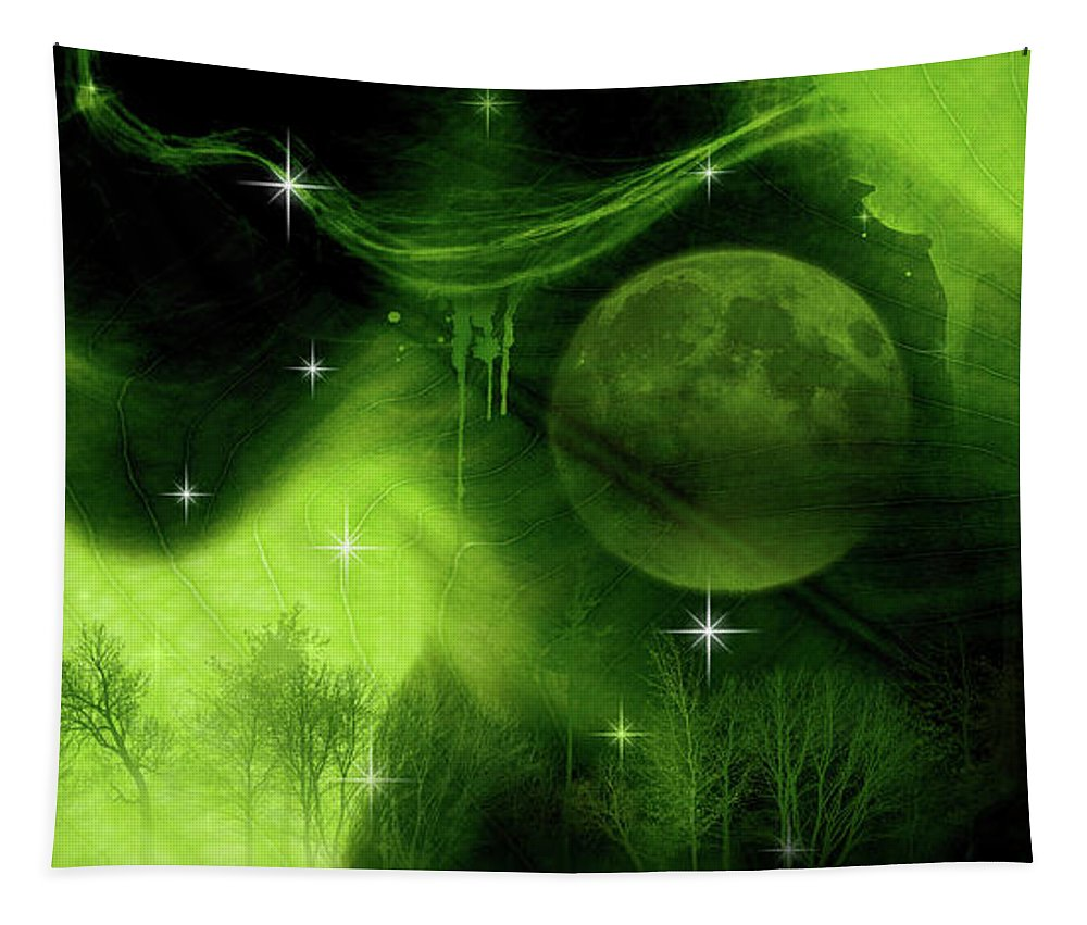 Nature Tapestry featuring the photograph Mother Nature by Prar Kulasekara