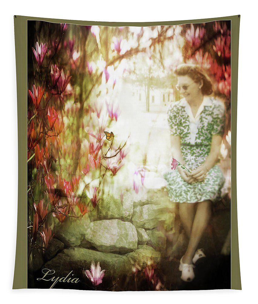 Mother's Day Tapestry featuring the photograph Mother's Day - Remembering Lydia by John Anderson