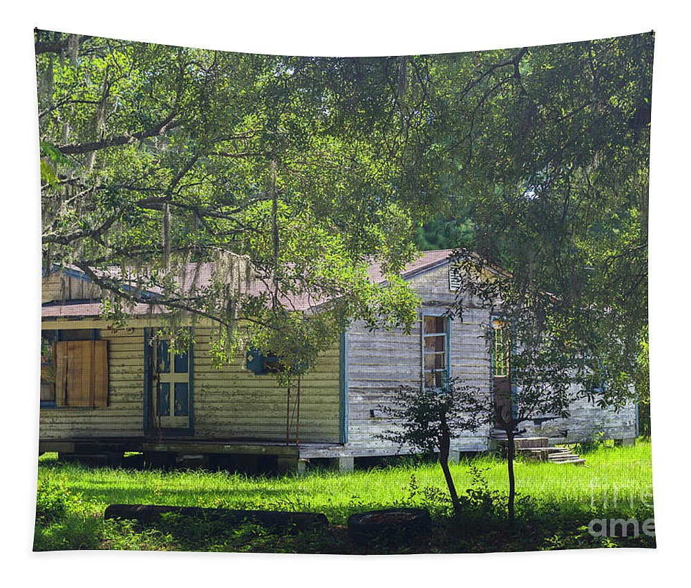 Wooden Tapestry featuring the photograph Mount Pleasant Bygone Era by Dale Powell