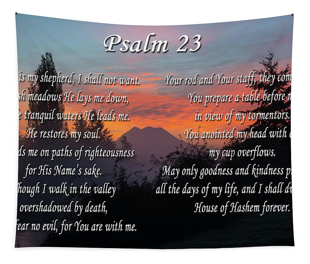Prayer Tapestry featuring the photograph Mountain Morning Prayer by Tikvah's Hope