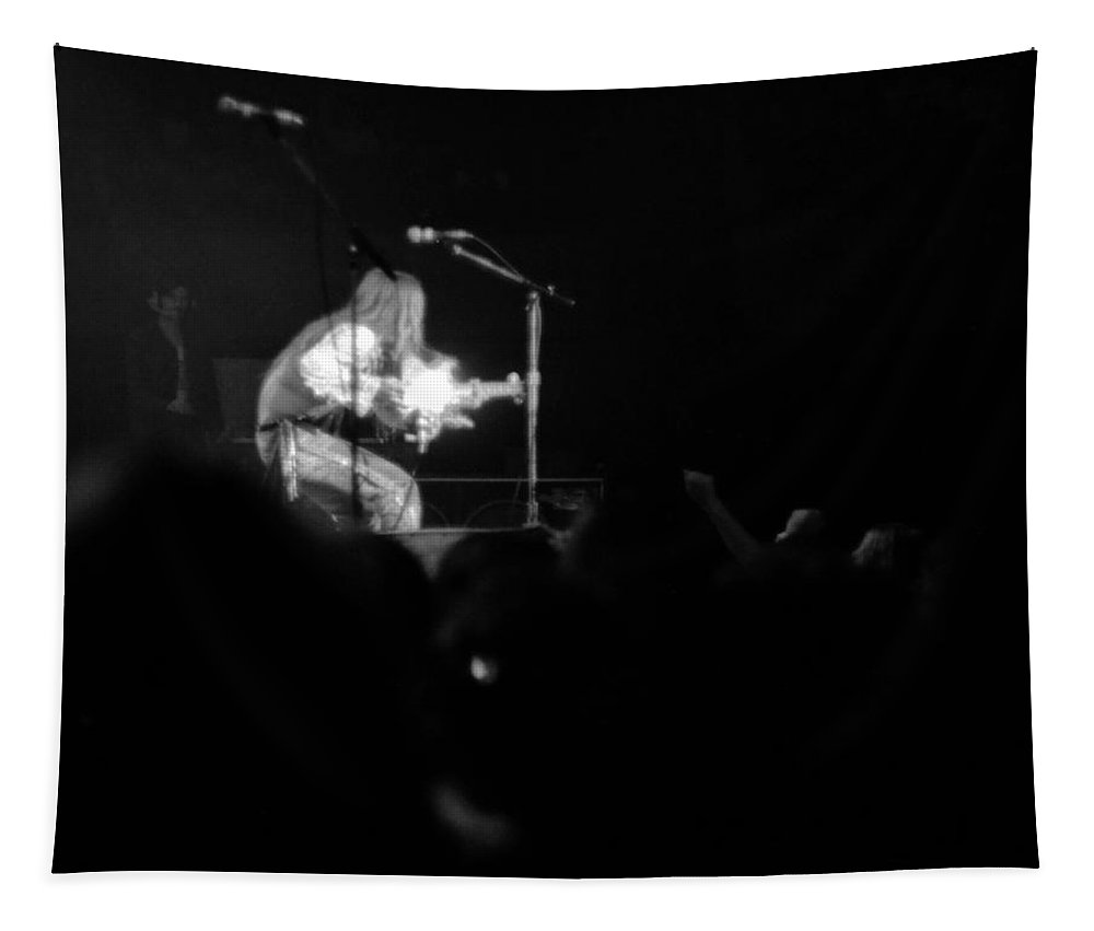 Music Tapestry featuring the photograph Mrwint75 #18 by Ben Upham