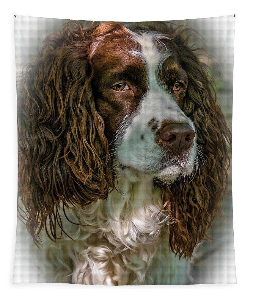 Steve Harrington Tapestry featuring the photograph Ms Kaya 2 - Vignette by Steve Harrington