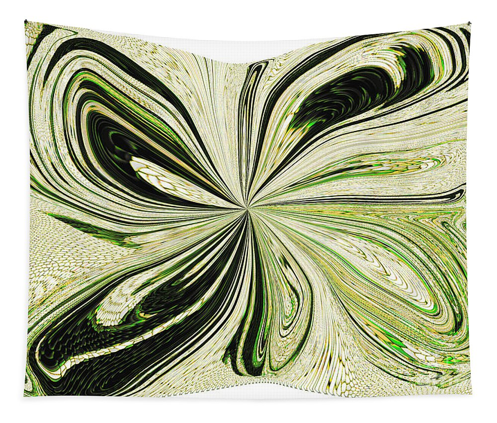 Butterfly Tapestry featuring the digital art Multi-color Butterfly Pillow by Debra Lynch