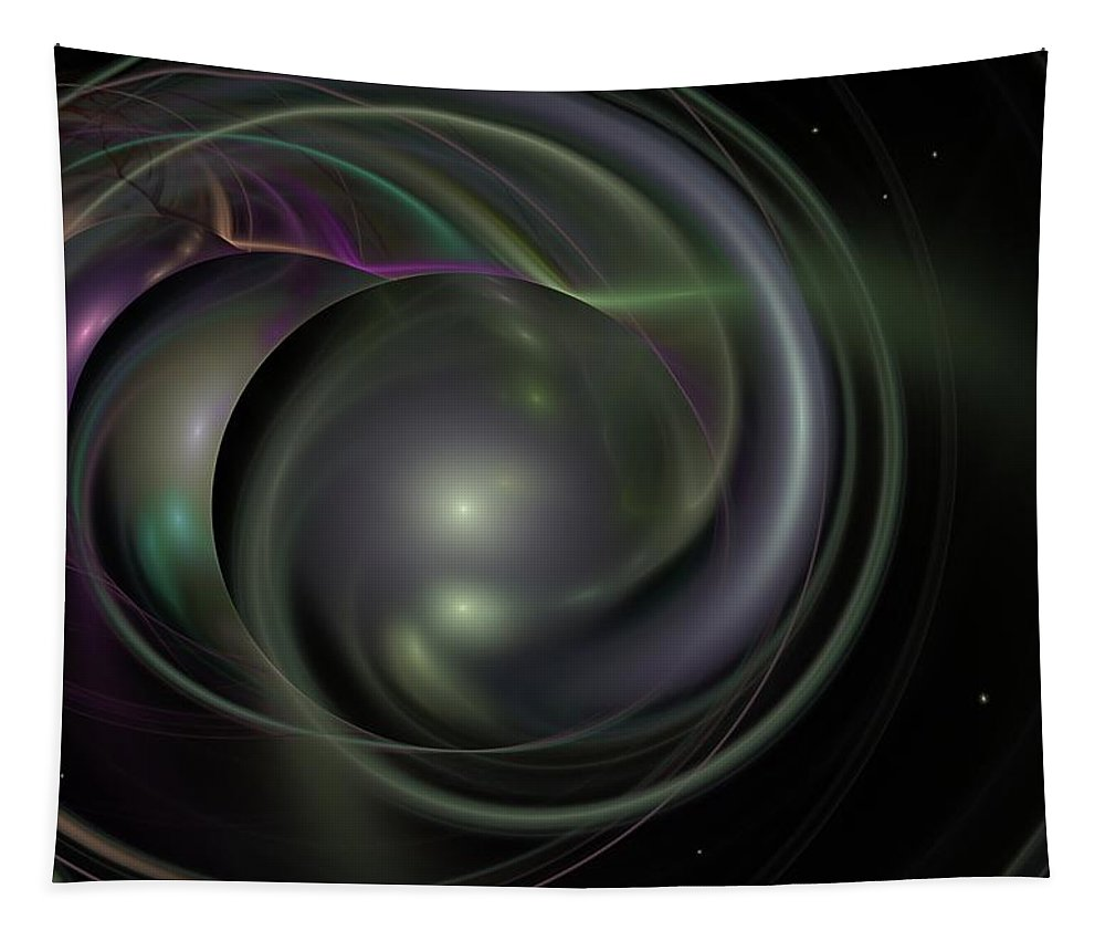 Fantasy Tapestry featuring the digital art Multiverse by David Lane