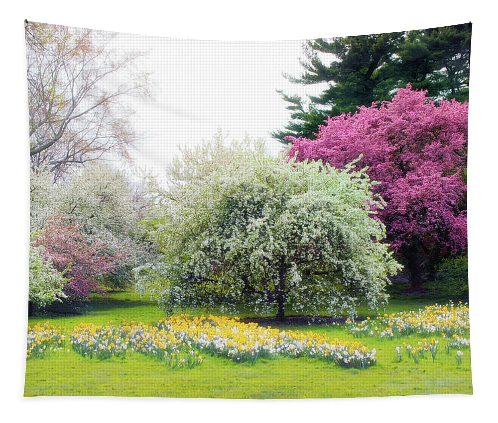 Nature Tapestry featuring the photograph Muted Meadow by Jessica Jenney