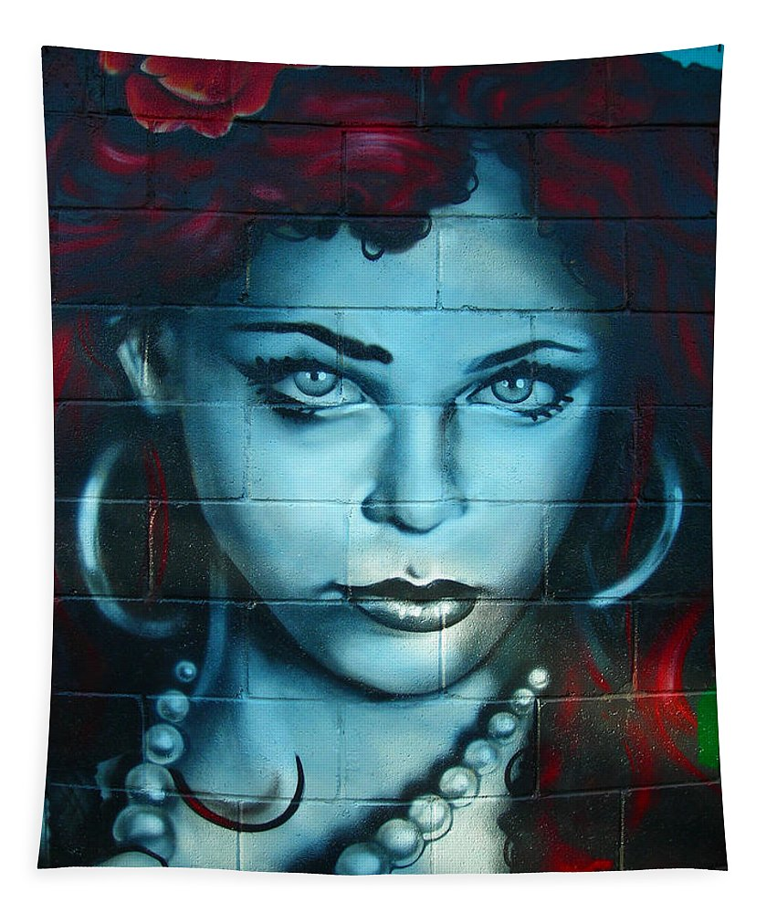 Paint Tapestry featuring the photograph My Lady ... by Juergen Weiss