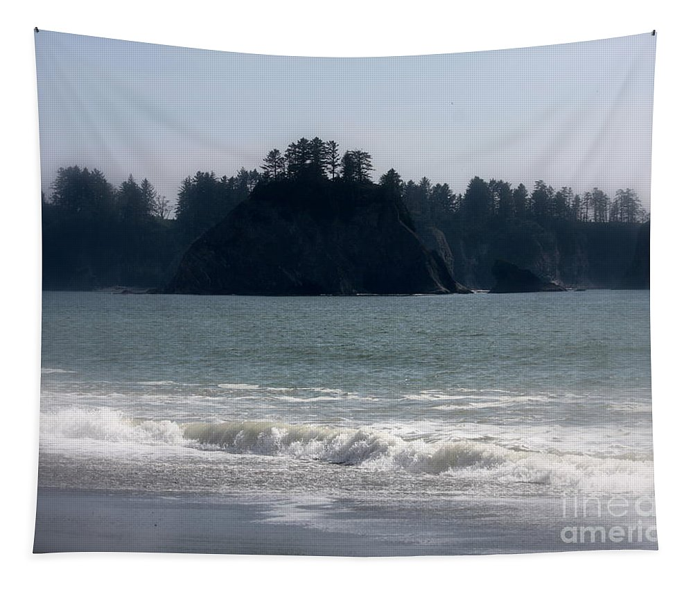 Mysterious Island Tapestry featuring the photograph Mysterious Island by Carol Groenen