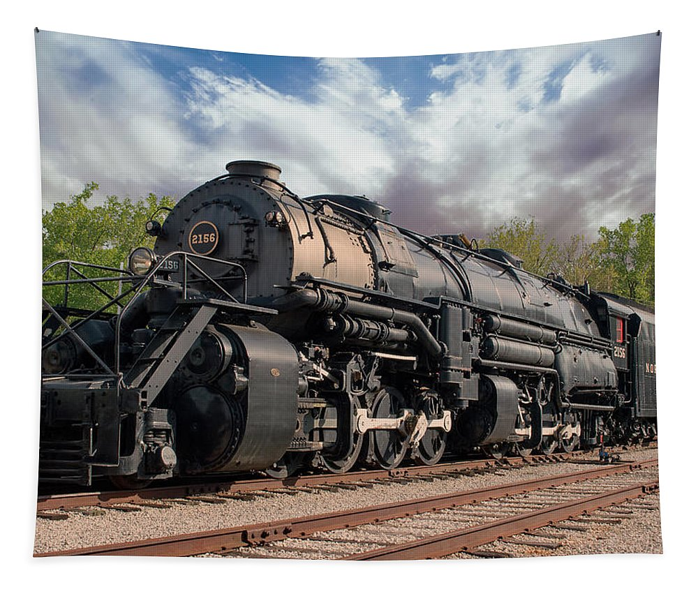 Ns Tapestry featuring the photograph N And W 2156 by Josh Spengler
