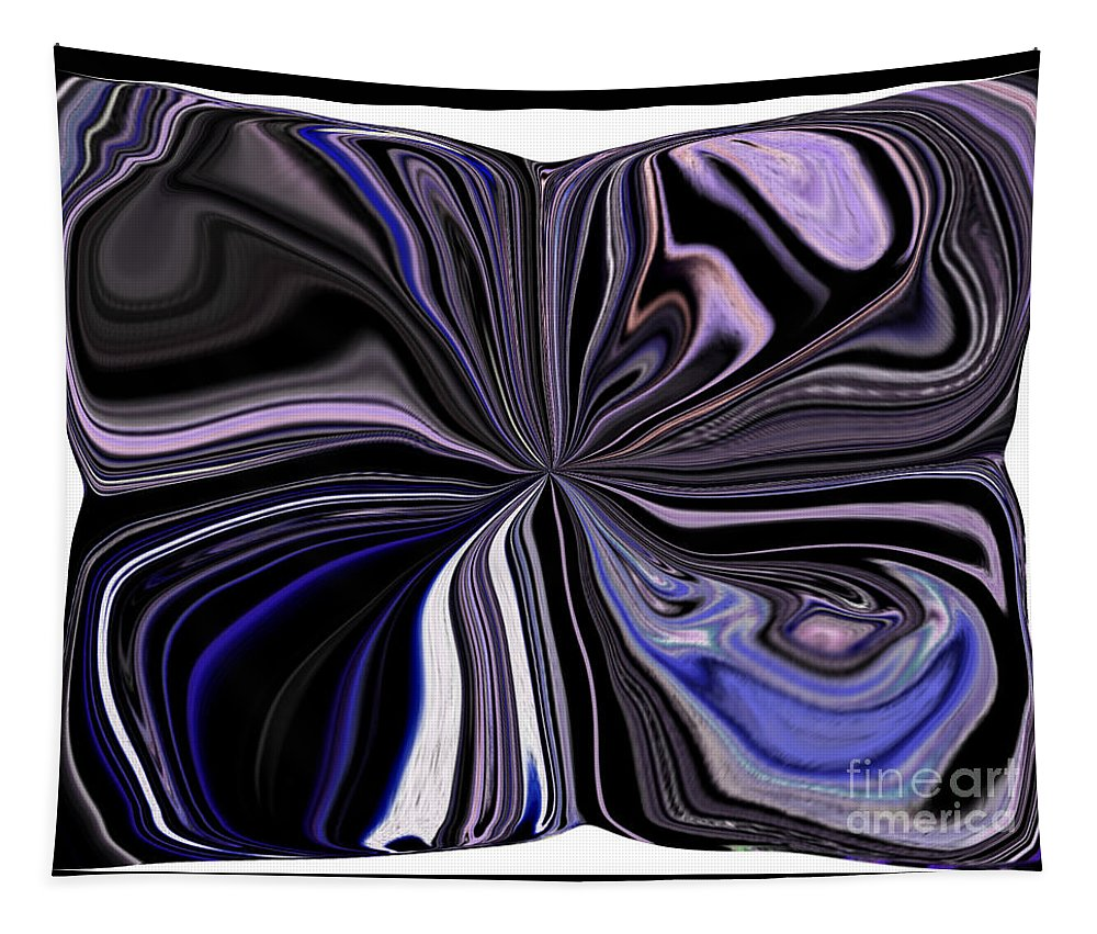 Cushion Tapestry featuring the digital art Nap Time by Debra Lynch