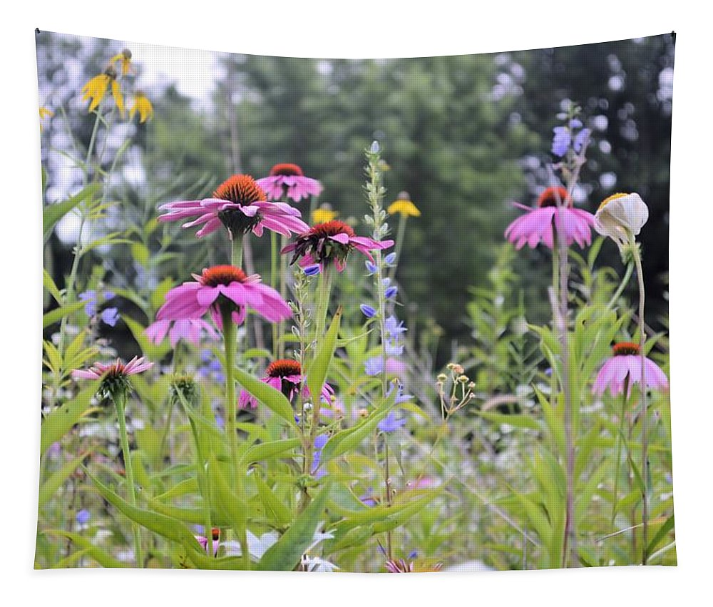 Bouquet Tapestry featuring the photograph Natures Bouquet by Bonfire Photography