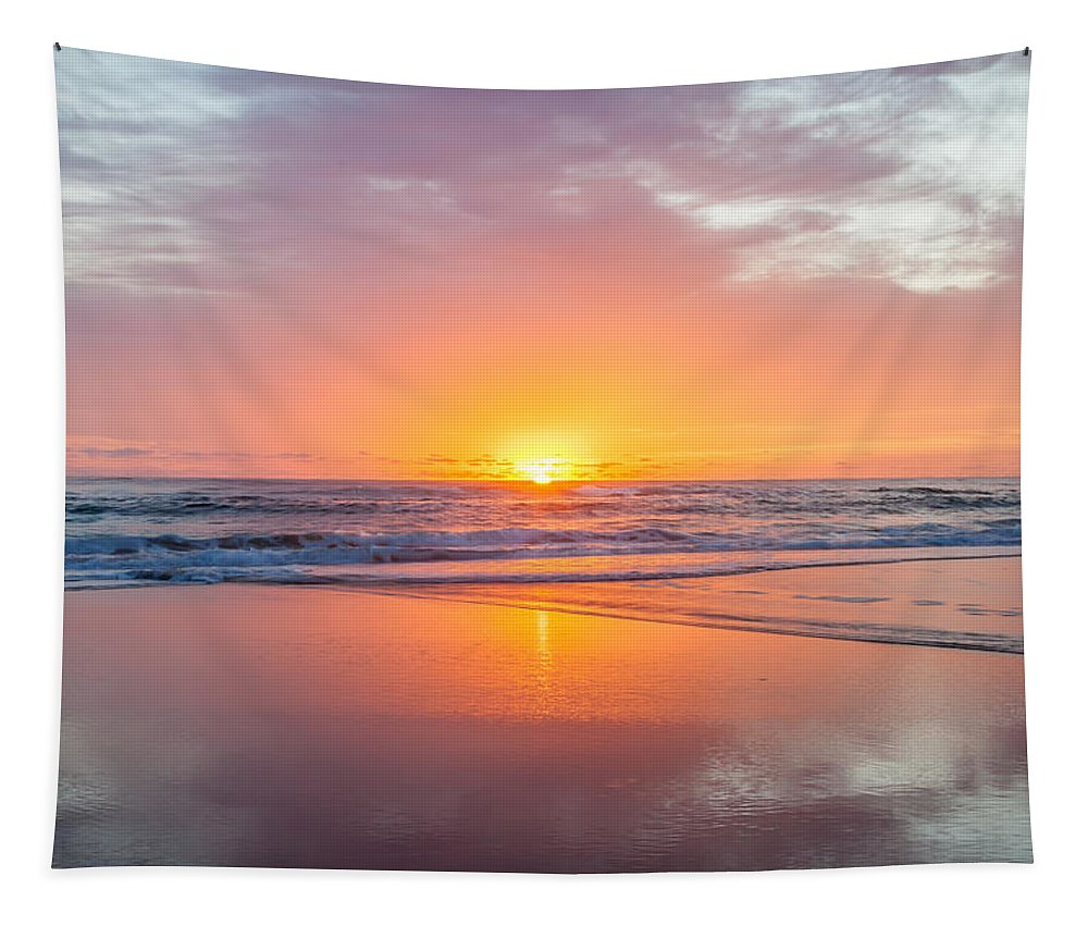 New Beginnings Tapestry featuring the photograph New Beginnings by Az Jackson