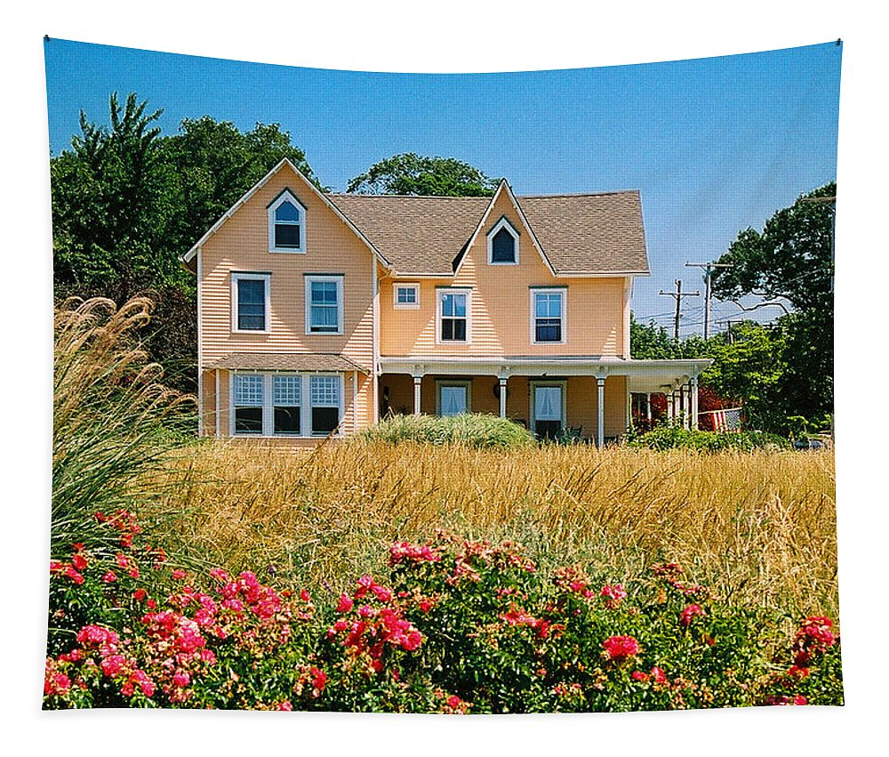 Landscape Tapestry featuring the photograph New Jersey Landscape by Steve Karol