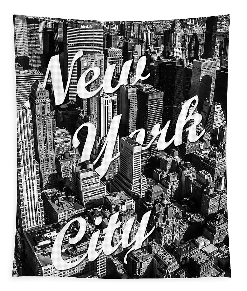 New York Tapestry featuring the photograph New York City by Nicklas Gustafsson