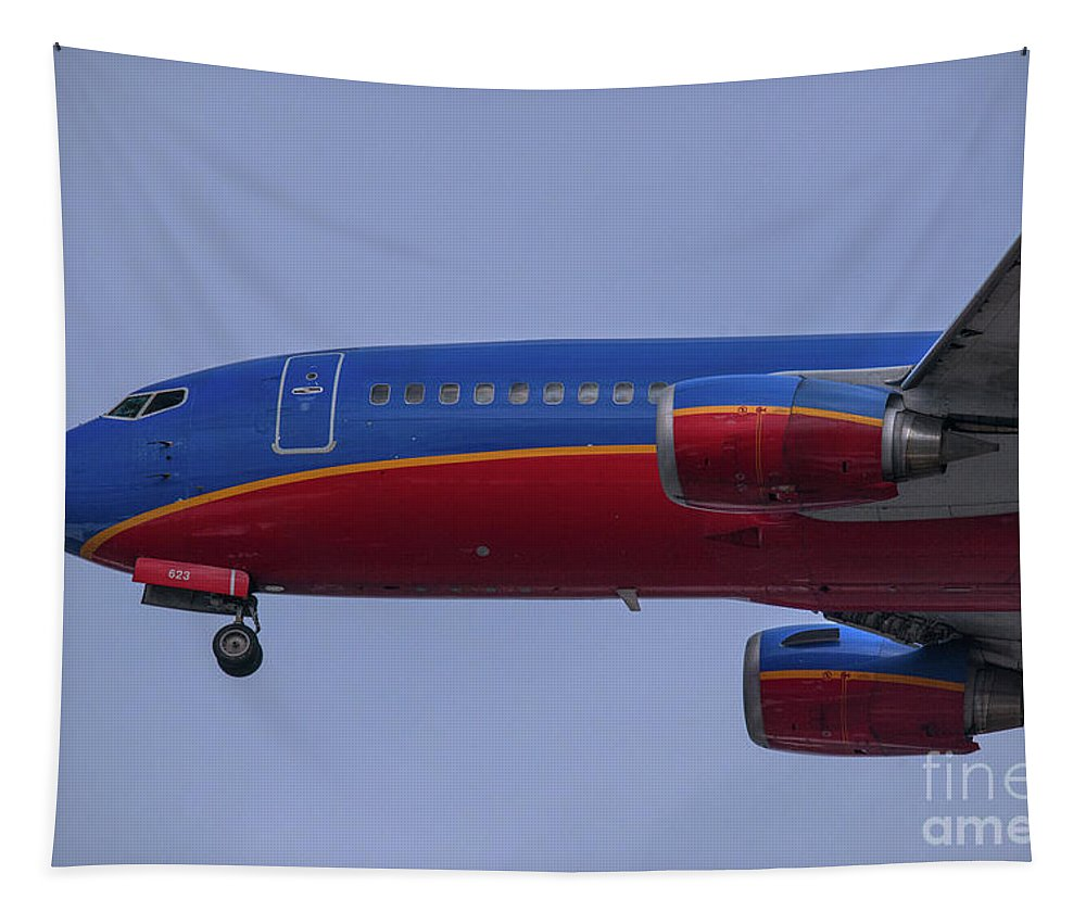 Southwest Tapestry featuring the photograph Nose Up by Dale Powell