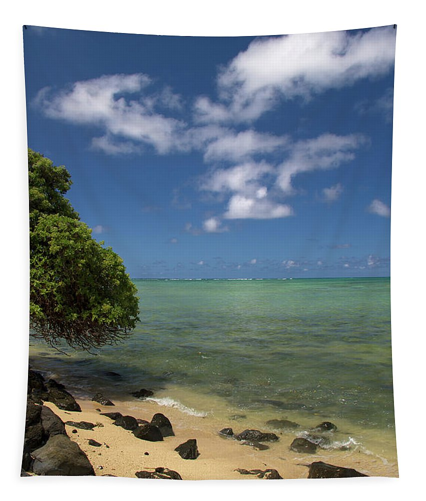 Ocean Tapestry featuring the photograph Oahu's East Coast 5 by Debby Richards