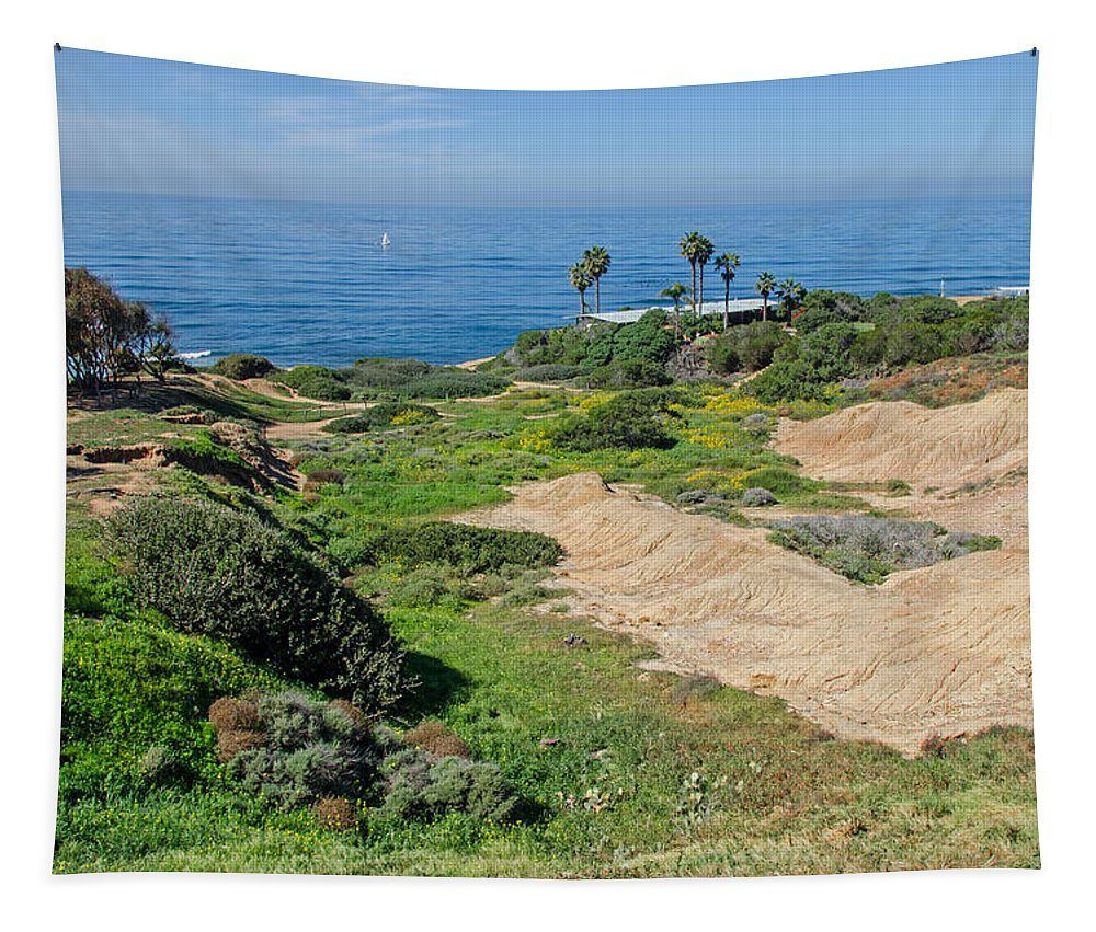 Ocean Tapestry featuring the photograph Ocean View by Susan McMenamin